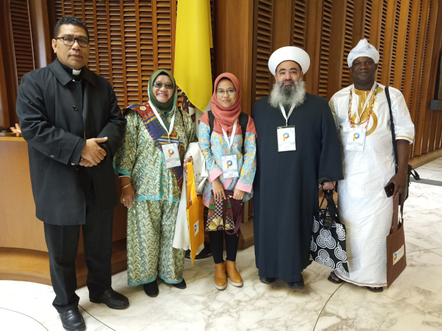 Scholar from Indonesia sees achieving peace and justice as her life's purpose