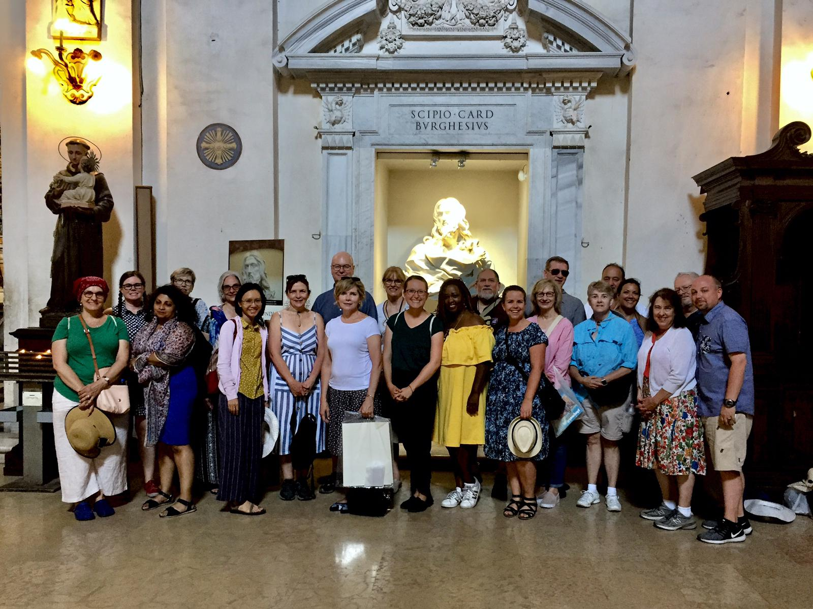 Loyola group connects Rome experience with studies