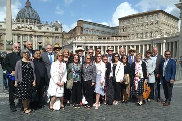 From Texas to Rome: Trustees of St. Mary's University discover connection with St. Benedict