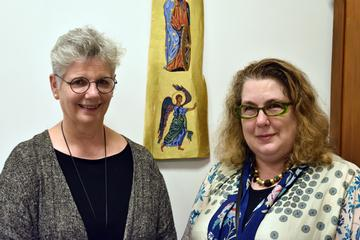 Dr. Donna Orsuto and Dr. Catherine Stevenson