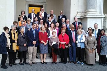 FADICA members enjoy Rome Pilgrimage