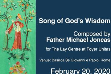Father Michael Joncas composes hymn for The Lay Centre
