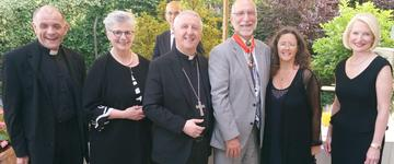 Layman honoured for outstanding contribution to Catholic higher education