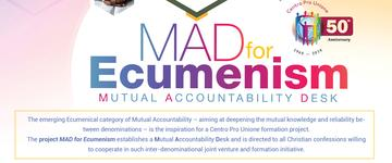 'MAD for Ecumenism': a new formation project for Centro Pro Unione